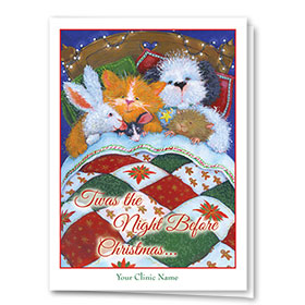 Holiday Card-Christmas Quilt