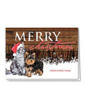 Holiday Card-Woodland Greeting