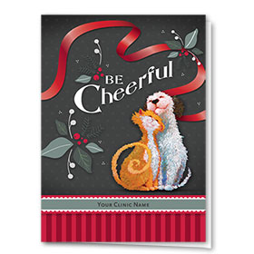 Holiday Card-Be Cheerful