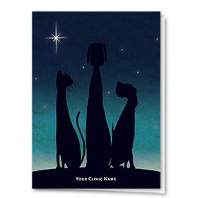 Holiday Card-Night Sky Trio