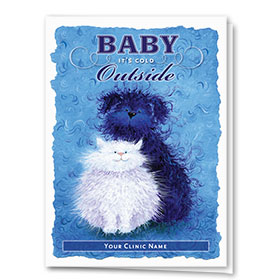 Holiday Card-Baby It's Cold