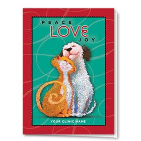 Holiday Card-Loving Pair
