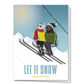 Holiday Card-Ski Till We Drop