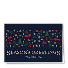 Veterinary Holiday Cards - Greeting Hound