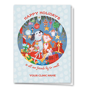 Veterinary Holiday Cards - Holiday Critters