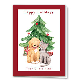 Veterinary Holiday Cards