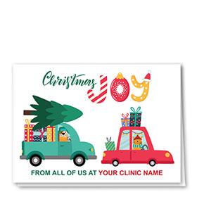 Veterinary Holiday Cards - Christmas Joy