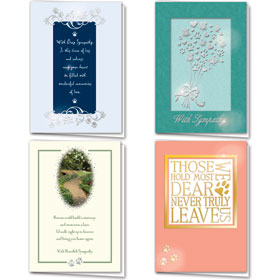 Foil Pet Sympathy Cards Assortment Pack - 02