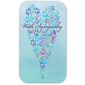 Pet Memorial Cards - Comforting Thoughts