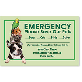Pet Safety Sticker - Pet Stack