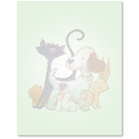 Animal Printer Paper - Furry Friends