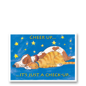3-Up Postcard-Cheer Up