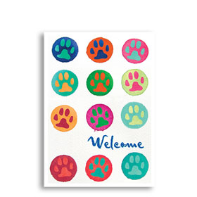 3-Up Veterinary Postcards - Bright Welcome