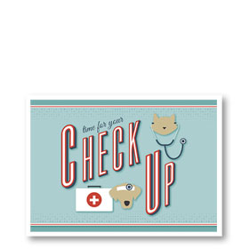 3-Up Veterinary Postcards - Doctor Dog