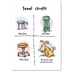 Standard Postcards-Stool Sample