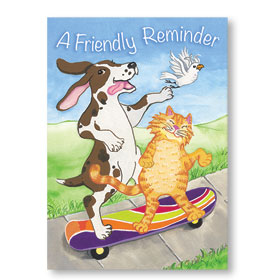 Standard Veterinary Postcards - Reminder Ride