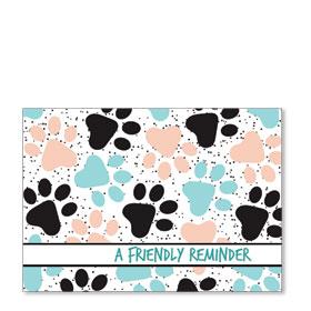 Standard Veterinary Postcards - Pastel Paws
