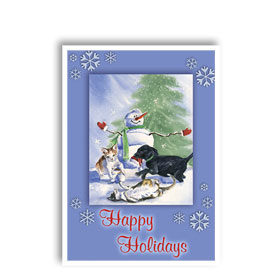 3-Up Holiday Postcards