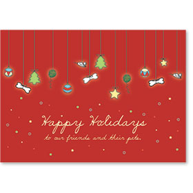 Veterinary Holiday Postcards - Holiday Treasures