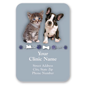Full-Color Veterinary Magnets - Go Where