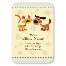 Full-Color Veterinary Magnets - Don't Forget