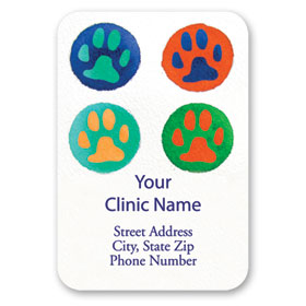Full-Color Veterinary Magnets - Bright Welcome
