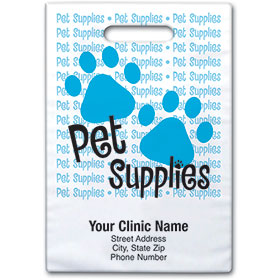 "Personalized Vet Supply Bags - 9"" X 12"" - Bag Design 32B"