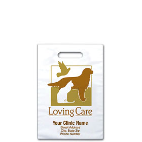 "Personalized Vet Supply Bags - 8"" x 9""  - Bag Design 06B"
