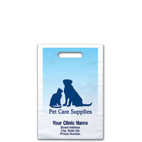 "Personalized Vet Supply Bags - 9"" X 9""  - Bag Design 12B"