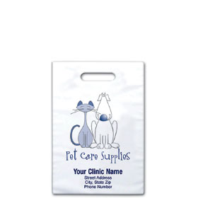 "Personalized Vet Supply Bags - 8"" x 9""  - Bag Design 21B"