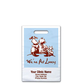 "Personalized Vet Supply Bags - 8"" x 9""  - Bag Design 29B"