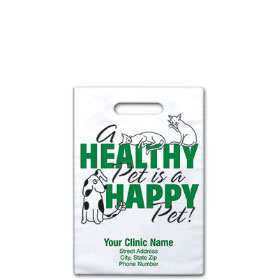 "Personalized Vet Supply Bags - 8"" x 9""  - Bag Design 30B"