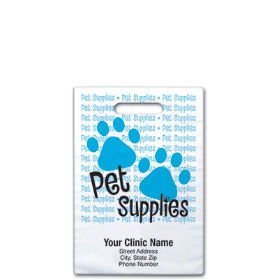"Personalized Vet Supply Bags - 9"" X 9""  - Bag Design 32B"