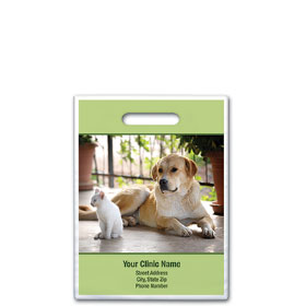 "Personalized Full-Color Vet Supply Bags - 7 1/2"" X 9"""
