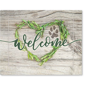 "11"" x 14"" Wall Art Poster - Welcome"