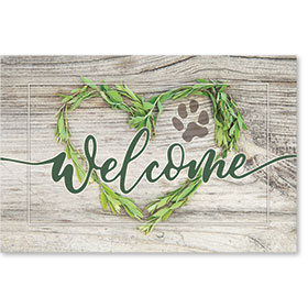 "12"" x 18"" Wall Art Poster - Welcome"