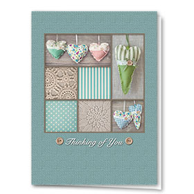 Full-Color Medical Sympathy Cards - Quilted with Love