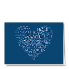 Full-Color Medical Sympathy Cards - Words of Sympathy