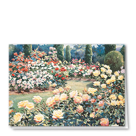 Full-Color Multi-Use Medical Greeting Cards - Rose Garden