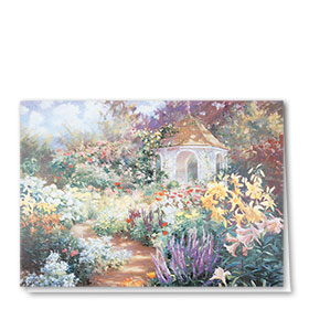Full-Color Multi-Use Medical Greeting Cards - Garden Gazebo