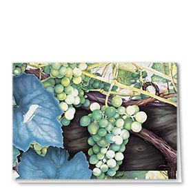 Full Color Multi Use Card-White Grapes