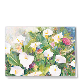 Full Color Multi Use Card-Lilly Field