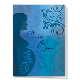 Full-Color Multi-Use Medical Greeting Cards - Serene Health
