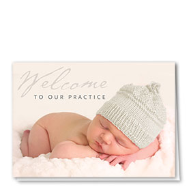 Full-Color Medical Welcome Cards - Welcome Baby