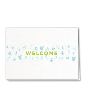 Full-Color Medical Welcome Cards - Tiny Designs