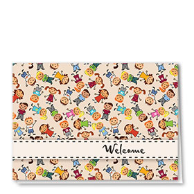 Full-Color Medical Welcome Cards - Kid Print