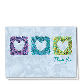 Full-Color Medical Thank You Cards - Petals of Thankfulness