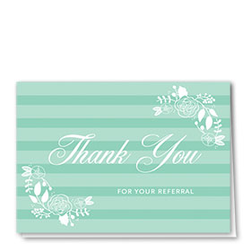 Full Color Thank You Card-Pastel Thank You