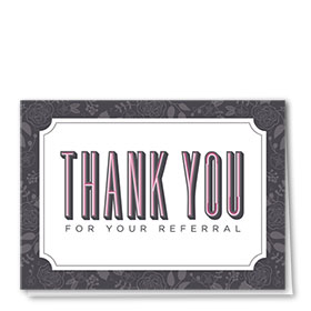 Full-Color Medical Thank You Cards - Bold Thank You
