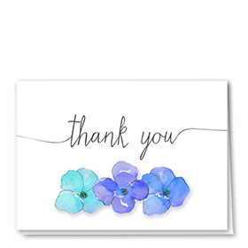 Full-Color Medical Thank You Cards - Violet Thanks